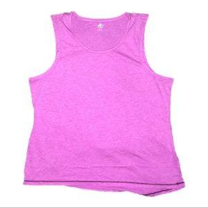 Woman's Athletech Pink Workout Tank Top XL